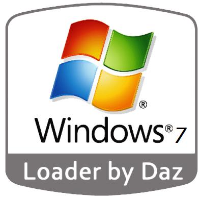 Windows 7 Loader By Daz Full