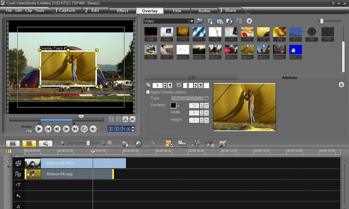 VideoStudio Pro X2 2