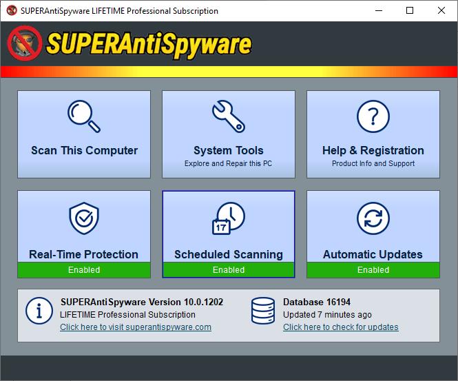 SUPERAntiSpyware.Pro .X.10