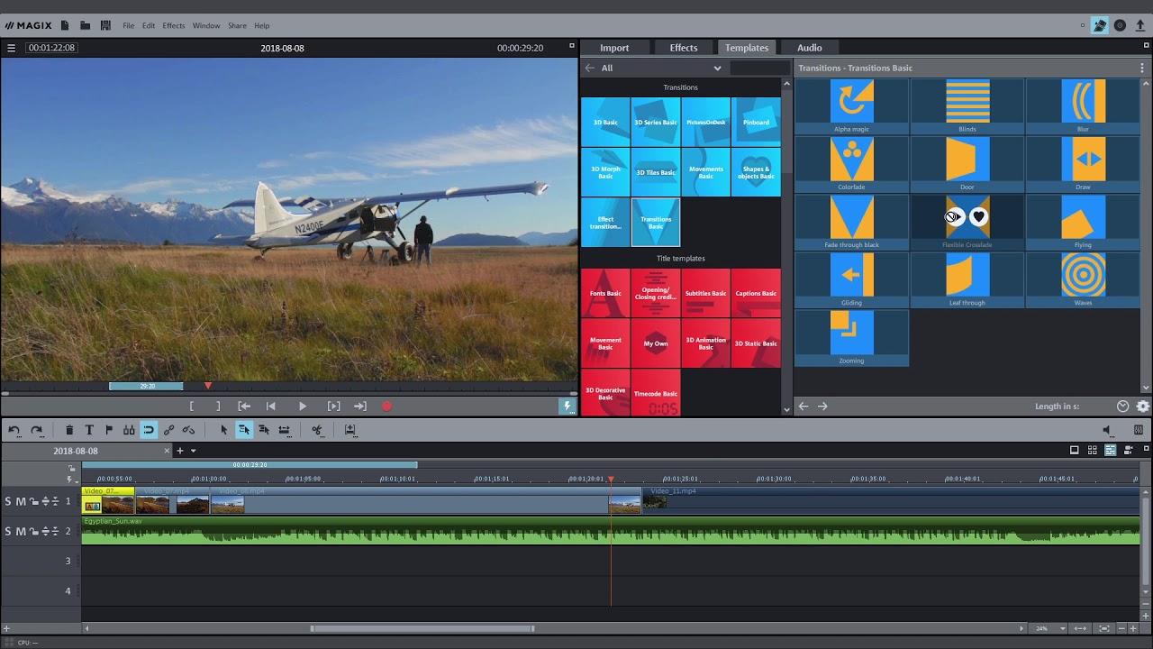 MAGIX Movie Edit Pro.2020